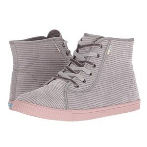 Toms Camarillo Cement Corduroy High Top Sneakers